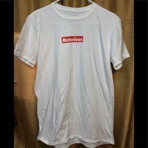 Notorious BIG White T-shirt
